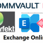 Point-In-Time recovery with the Commvault Exchange Mailbox Agent